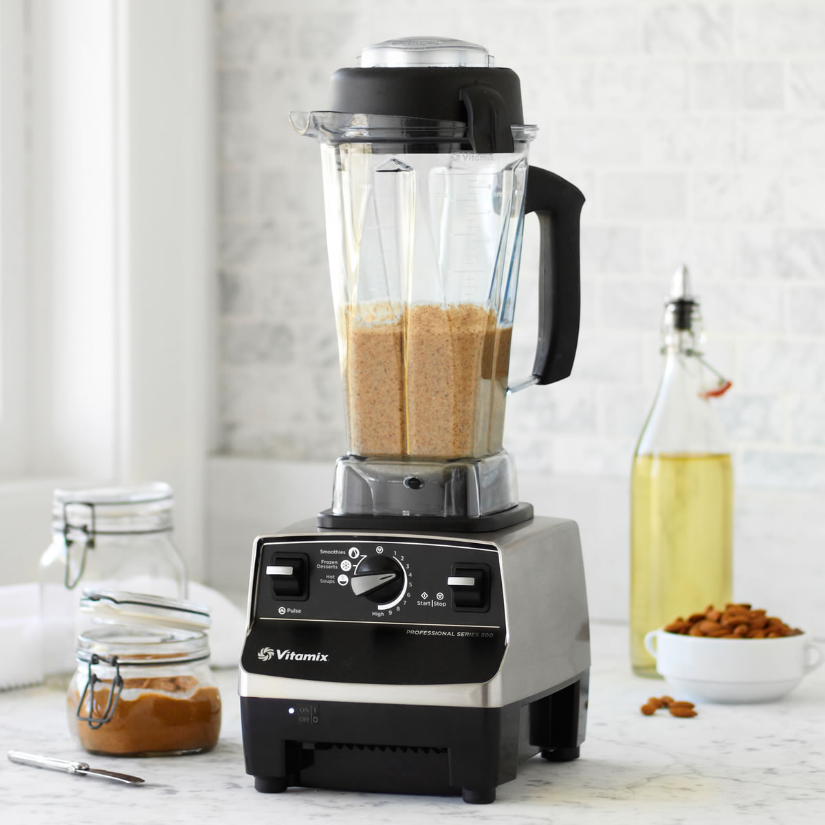 ... go back to another blender again after you use the Vitamix blender